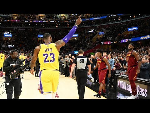 LeBron James RETURNS TO CLEVELAND as a LAKER! Mp3