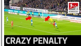 Substitute Causes Craziest Ever Penalty in Bundesliga 2 – 12th Man On The Pitch