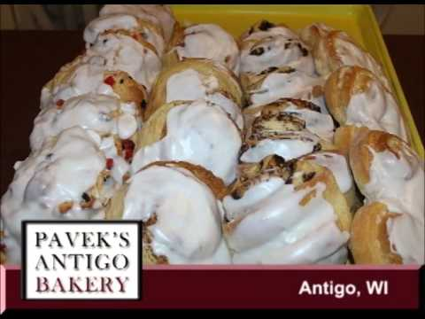 Antigo Wisconsin's Pavek's Antigo Bakery located on Our Story's What's Cookin