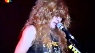 Megadeth-Peace Sells live @ Essen, Germany HQ