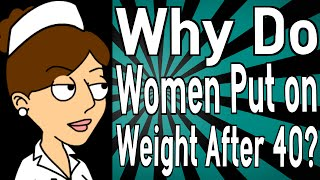 Why Do Women Put on Weight After 40?