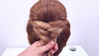 Прическа на длинные волосы Легкая прическа на каждый день