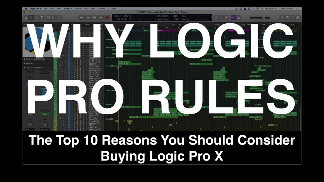 The Top 10 Reasons You Should Consider Buying Logic Pro X
