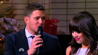 Michael Buble and Carly Rae Jepsen Home For The Holidays
