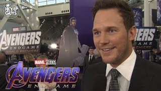 Avengers: Endgame World Premiere - Chris Pratt Interview