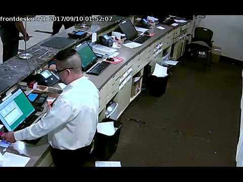 Front Desk North Sept. 10, 1:43am (Kenneka Jenkins)