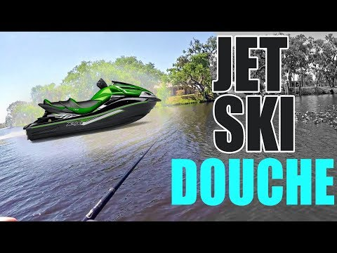 TOTAL Jet Ski DOUCHE Bag ~ Fishing For BASS In A RIVER