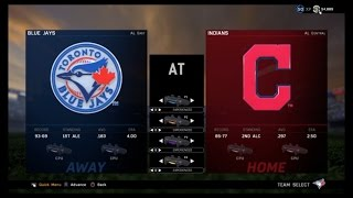 MLB The Show 16 Postseason (ALDS - Game 4): Blue Jays at Cleveland (10/11/2016)