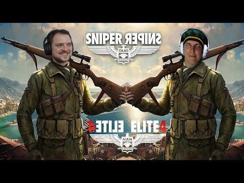 Sniper Elite 4 C Терентием Андреевичем Стребковым #2 (Стрим от 18.01.21)