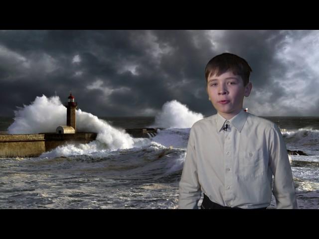 Изображение предпросмотра прочтения – ЕвгенийТерехов читает произведение «Эта книжечка моя про моря и про маяк» В.В.Маяковского