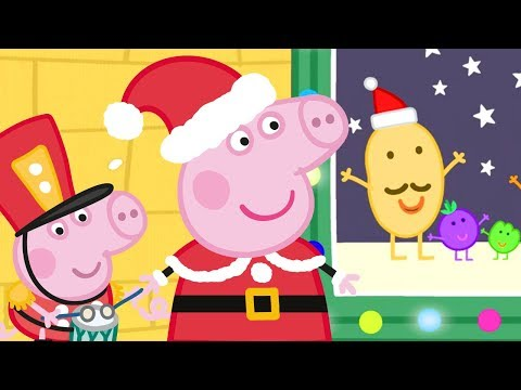 Peppa Pig Official Channel 🎅 Mr Potato's Holidays Show 🎅 Peppa Pig