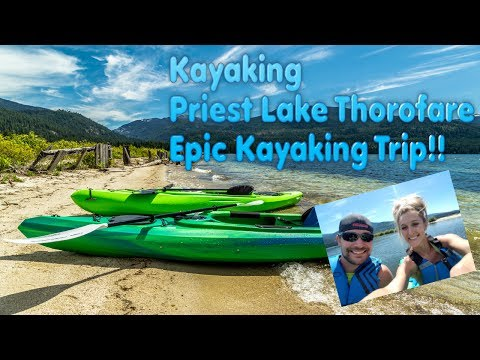 Kayaking Priest Lake Thorofare - Epic Upper Priest Lake Thoroughfare Kayaking Idaho