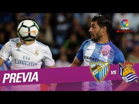 Previa Málaga CF vs Real Sociedad