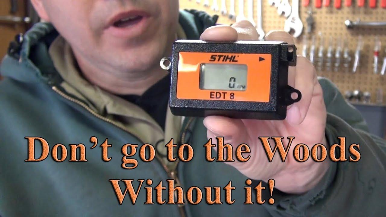 Stihl EDT 8 Tachometer