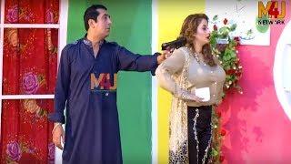 Zafri Khan with Affi Khan and Abid Charlie   Best of M4U Masti   Stage Drama Full Comedy Clip 2019