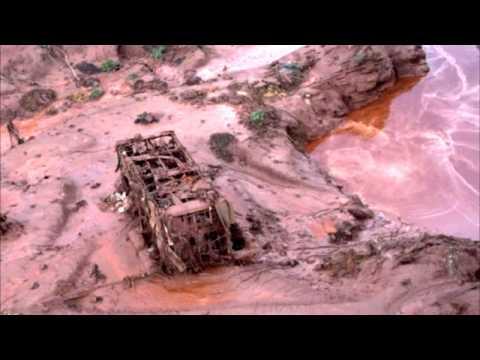 Imagens da tragédia em Mariana-MG  - Rompimento da Barragem da Samarco