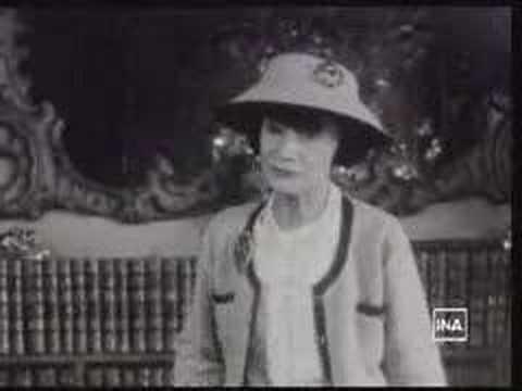 CHANEL: Coco Chanel parle de la mode