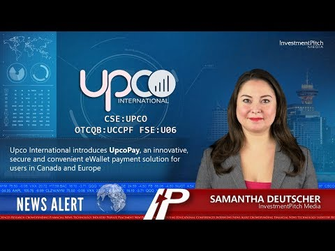 Upco International Introduces UpcoPay, An EWallet Payment Solution For Users In Canada And Europe
