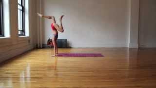 Handstand Yoga Flow with Tara Stiles