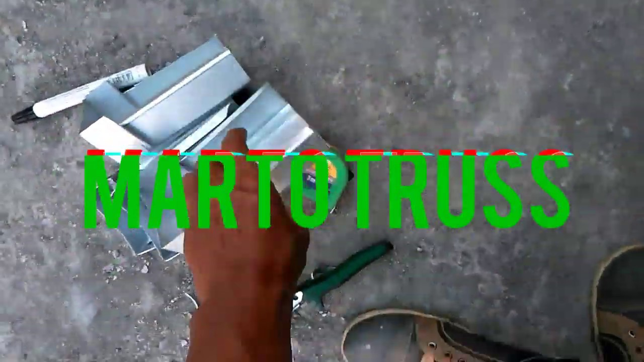 Model Reng Baja Ringan Pemasangan Part 2 Youtube