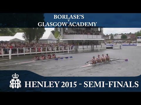 Borlase's v Glasgow Academy | Semi-Finals Day Henley 2015 | Fawley