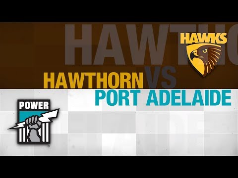 AFL Evolution | Online Round 1 | Hawthorn vs Port Adelaide