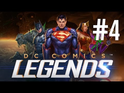 DC Legends (by Warner Bros.) - iOS/Android - HD Gameplay Trailer Chapter 4 Walk Through Part 1