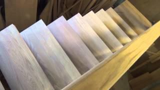 Деревянные лестницы. Деревянные лестницы Санкт-Петербург. Ясень(, 2013-11-18T12:30:33.000Z)