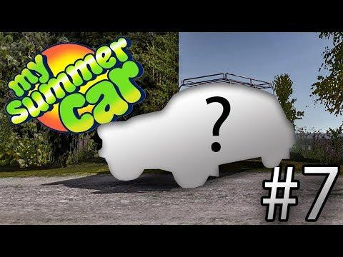 My Summer Car | #7 Krademe nové auto! [CZ/1080p]