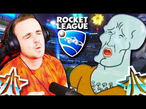 Rocket League but every time I play like a platinum player there's a meme thumbnail