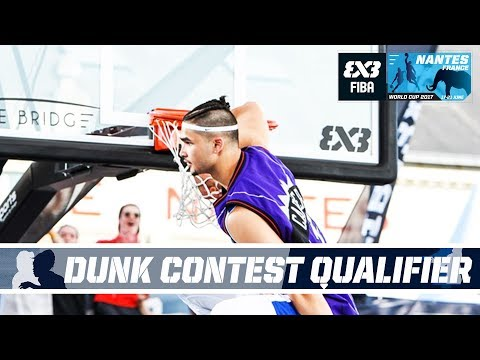 Kobe Paras vs. 5 Pro Dunkers in INSANE Dunk Qualifier (VIDEO) 2017 FIBA 3x3 World Cup