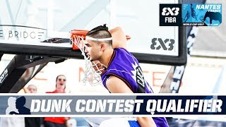 Kobe Paras vs. 5 pro dunkers in Insane Dunk Qualifier - FIBA 3x3 World Cup