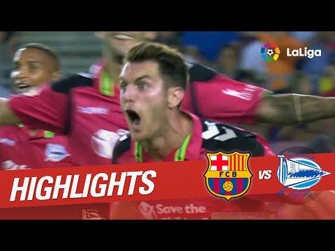 Resumen de FC Barcelona vs Deportivo Alavés (1-2)