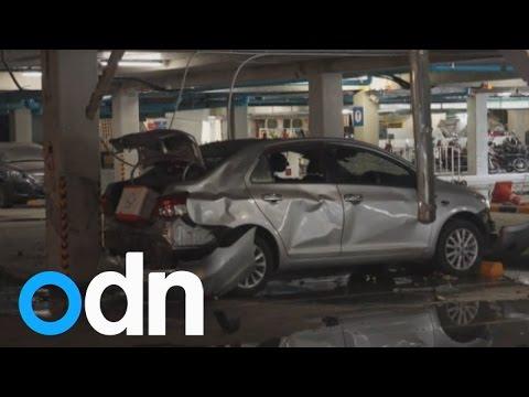 Koh Samui car bomb injures seven