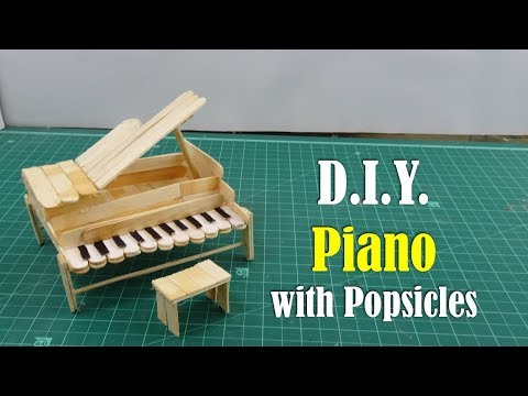 DIY: Piano with Popsicles