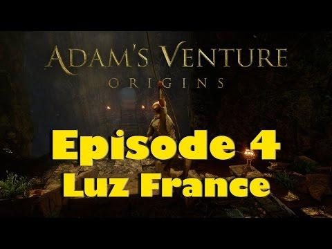 Adam's Venture - Origins PC Gameplay ( Episode 4 Luz France)