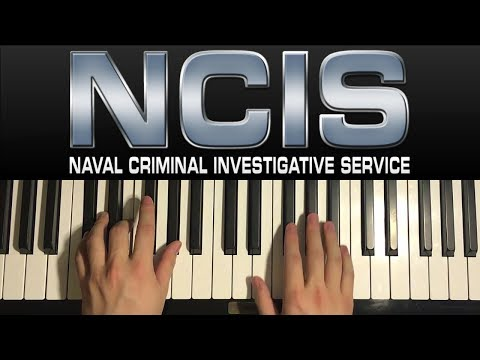 How To Play - NCIS - Theme Song (PIANO TUTORIAL LESSON)