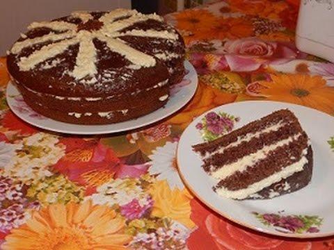 Как приготовить торт черный принц в мультиварке