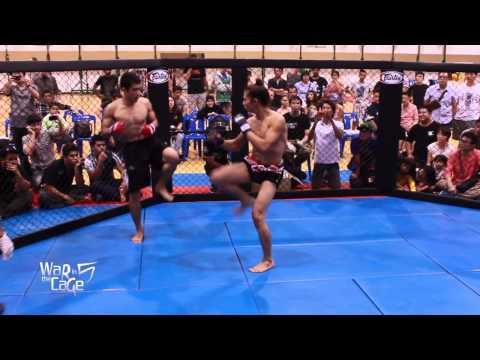 "War in the Cage 5 [Fight 2]: ""คุณชายพันธุ์โชะ vs สิงห์ไชยา"" Featherweight (-145lb)"