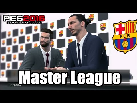 PES 2016 Master League Gameplay ps3