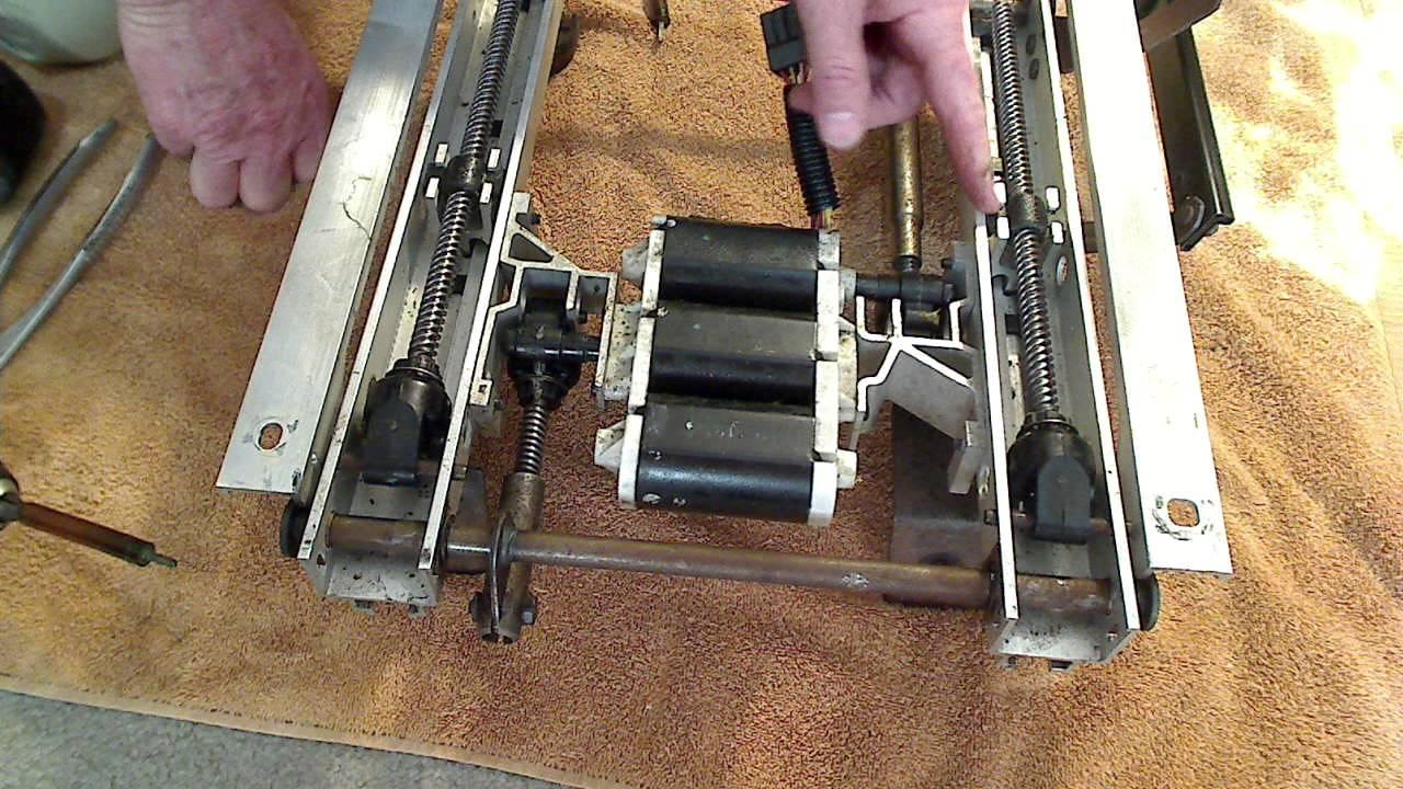 gm sliding loose seat repair