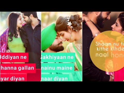 😍👉Sakhiyan Female Version-💝 Full Screen Whatsapp Status😘 Punjabi  Status - Trapt Creation