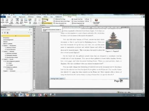 Writing phd thesis in word 2010