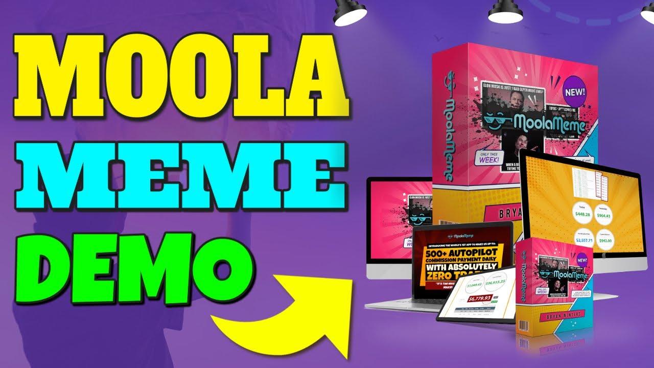 MoolaMeme Review & Demo 😜 Moola Meme Review + Demo 😜😜😜