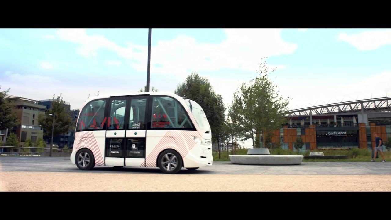 Navly the new autonomous public transport solution - Bus lyon nancy ...