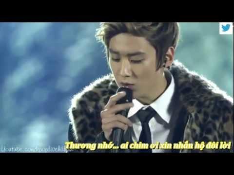 [vietsub]121129 TEEN TOP - Bèo Dạt Mây Trôi live HD ( Music Core in Viet Nam)