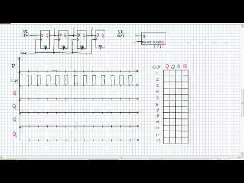 Serial In Parallel Out Shift Registers | Doovi