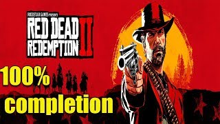 red dead redemption ii 100% completion - full game walkthrough xbox one Part 2
