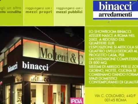 binacci roma arredamenti presente su la guida ai negozi