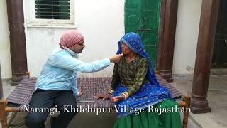 Narangi Patient of Khilchipur Village Clinic